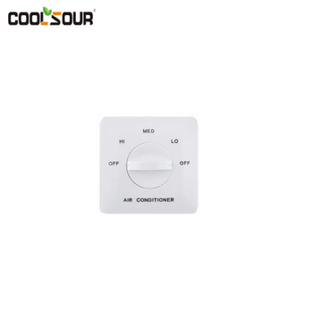 Coolsour Three Speed switch for fan coil unit used , refrigeration parts