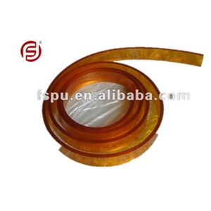 Polyurethane Squeegee Scraper Blade/ Rubber Strip for Screen Printing