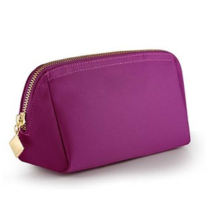 Luxury style custom red cosmetic bag small clutch Pouch