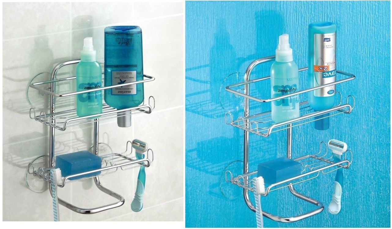 Buy Zenith Products Over the Towel Bar Caddy, Chrome in Cheap Price ...