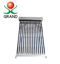 Low pressure solar heating collector