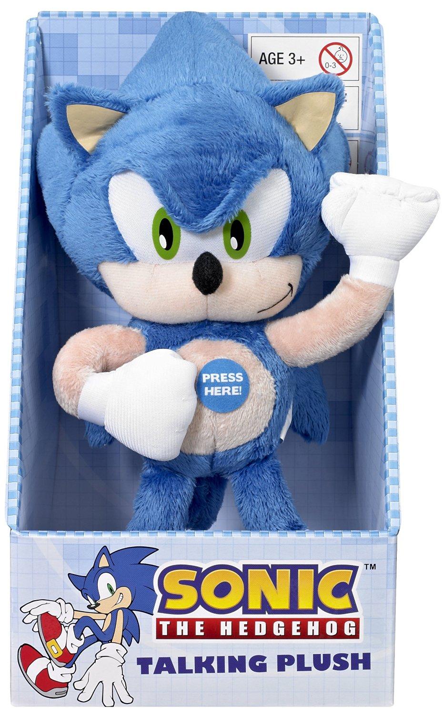 "Underground Toys Sonic The Hedgehog Talking 9"" Plush"