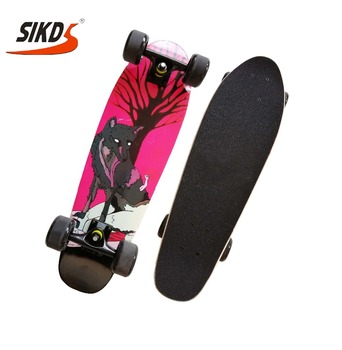 Wholesale maple cruiser skateboard custom skate cruiser longboard super cruiser