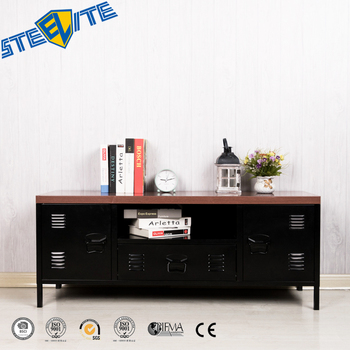promo code b7646 f22ca Industrial Metal Tv Media Unit Cabinet With Showcase Home Furniture - Buy  Tv Cabinet,Tv Cabinet Modern,New Model Tv Cabinet With Showcase Product on  ...