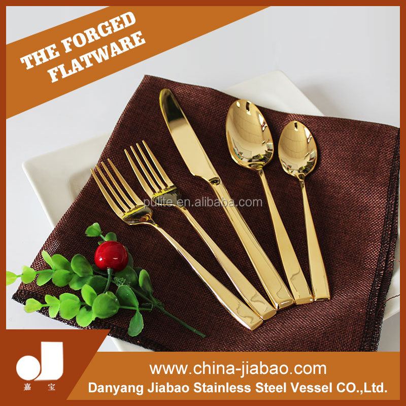 New products restaurant stainless steel cutlery set , stainless steel cutlery