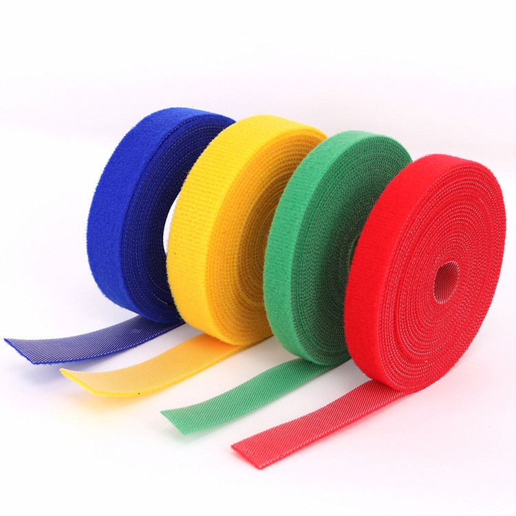 Reusable Fastening Wire Cover Cable  magic tape hook and loop cable ties
