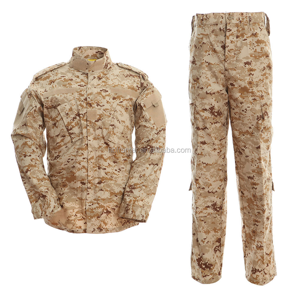 Iran Military Uniform Desert Digital Camouflage Military Uniform Army Clothing