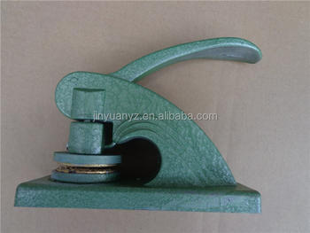 Best quality custom design green embossing stamp /common seal for office use