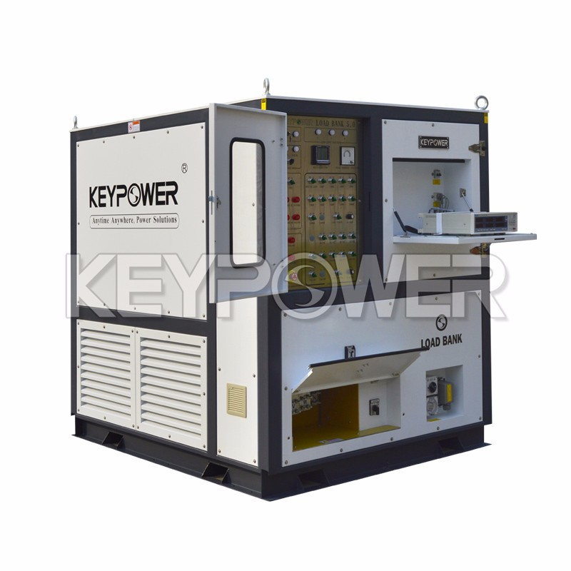 KEYPOWER 1125kva PF 0.8 DC Load Banking for Generator Noise Level at Full Load