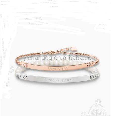 Custom Engraved Metal Bracelet Supplieranufacturers At Alibaba Com