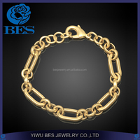 Dubai Gold Jewelry Rolo Chian Bracelet with Extention Chian Free Samples on Allibaba Com