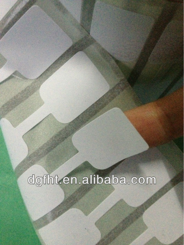Customized Blank Label Sticker Thermal Paper Roll food dissolvable label rolls