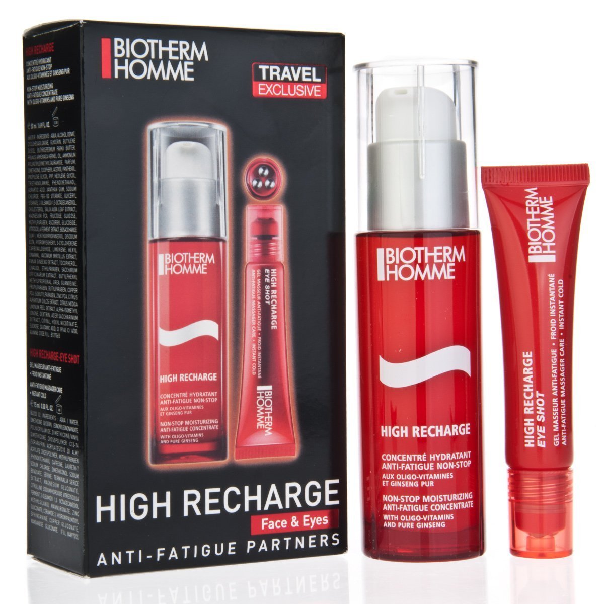 Biotherm Homme High Recharge Face and Eyes Kit, 2 Count