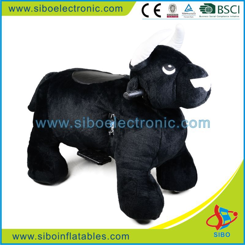 GM59 Attractive high quality electric ride on animals,mechanical bull for sale