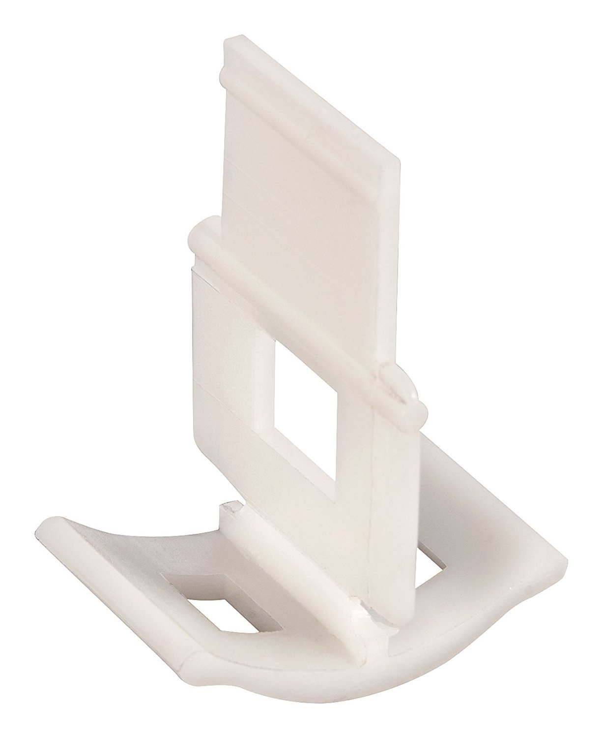 Tile Aligning Tile Leveling Spacer Clips, 100-Pack. Lippage free tile installation for PRO and DIY, Wedge not included