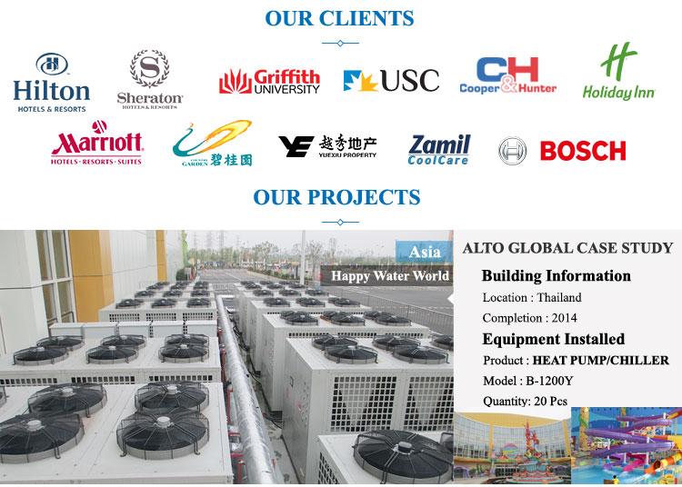 Altaqua air source evi technology air to water heat pumps