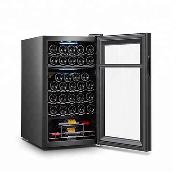 Compressor Wine Cooler, Wine Fridge Dual Zone With Compressor Electronic Control