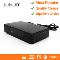 JUNUO cheap DVB-T2 HD 1080P digital tv tuner best selling products tv receiver dvb t2 RF in and out put