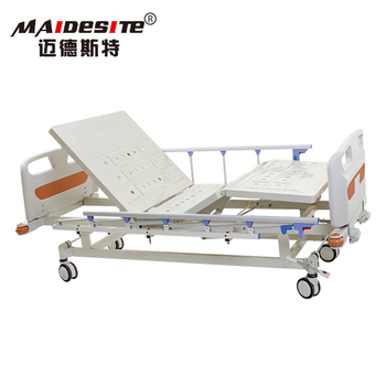 2 crank patient manual lateral tilt hospital bed