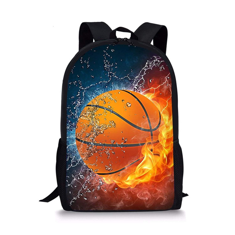 1f8ae2a471e Nike Premium Backpack Jordan Jumpman Laptop Bookbag Sports Basketball Kids  Backpack. Get Quotations · Horeset School Backpack School Fire Bookbag  Outdoor ...