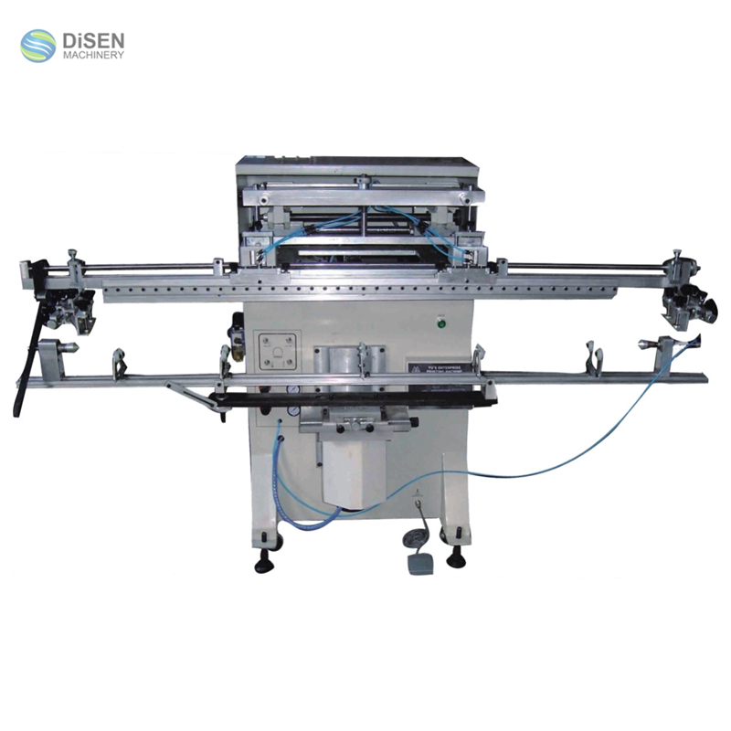 Golf clubs fishing rods water pipes cylinder silk screen printing machine for sale