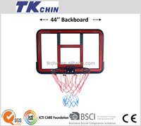 "44"" high quality plastic polycarbonate basketball backboard"