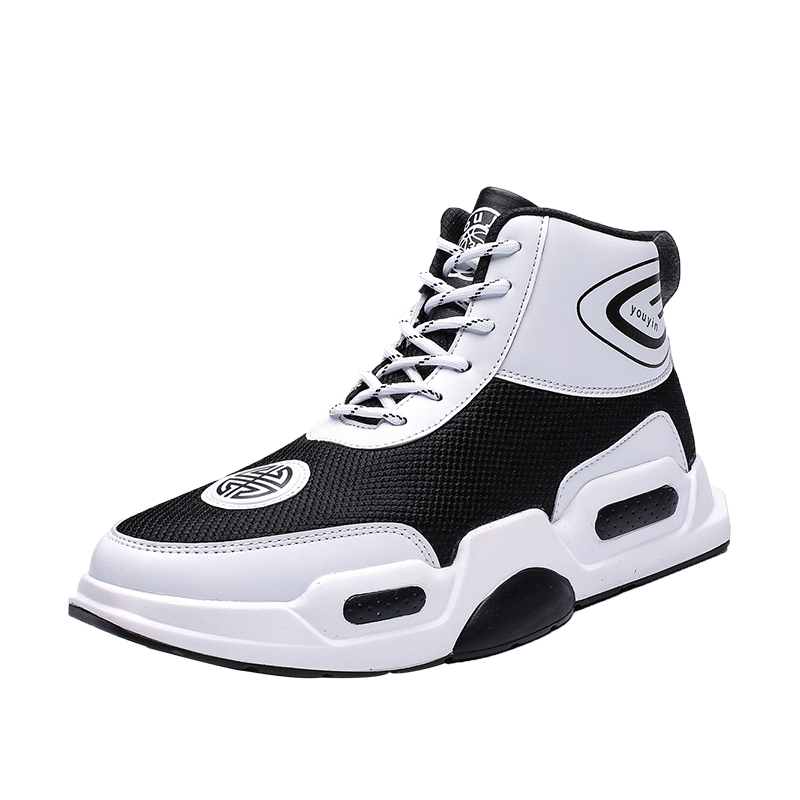 Alibaba.com / YT Shoe Student Sports Zapatillas Hombre Sneakers High Top Mens Basketball Shoes