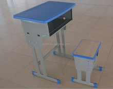 2015 wholesale price student desk and chair for school project or construction