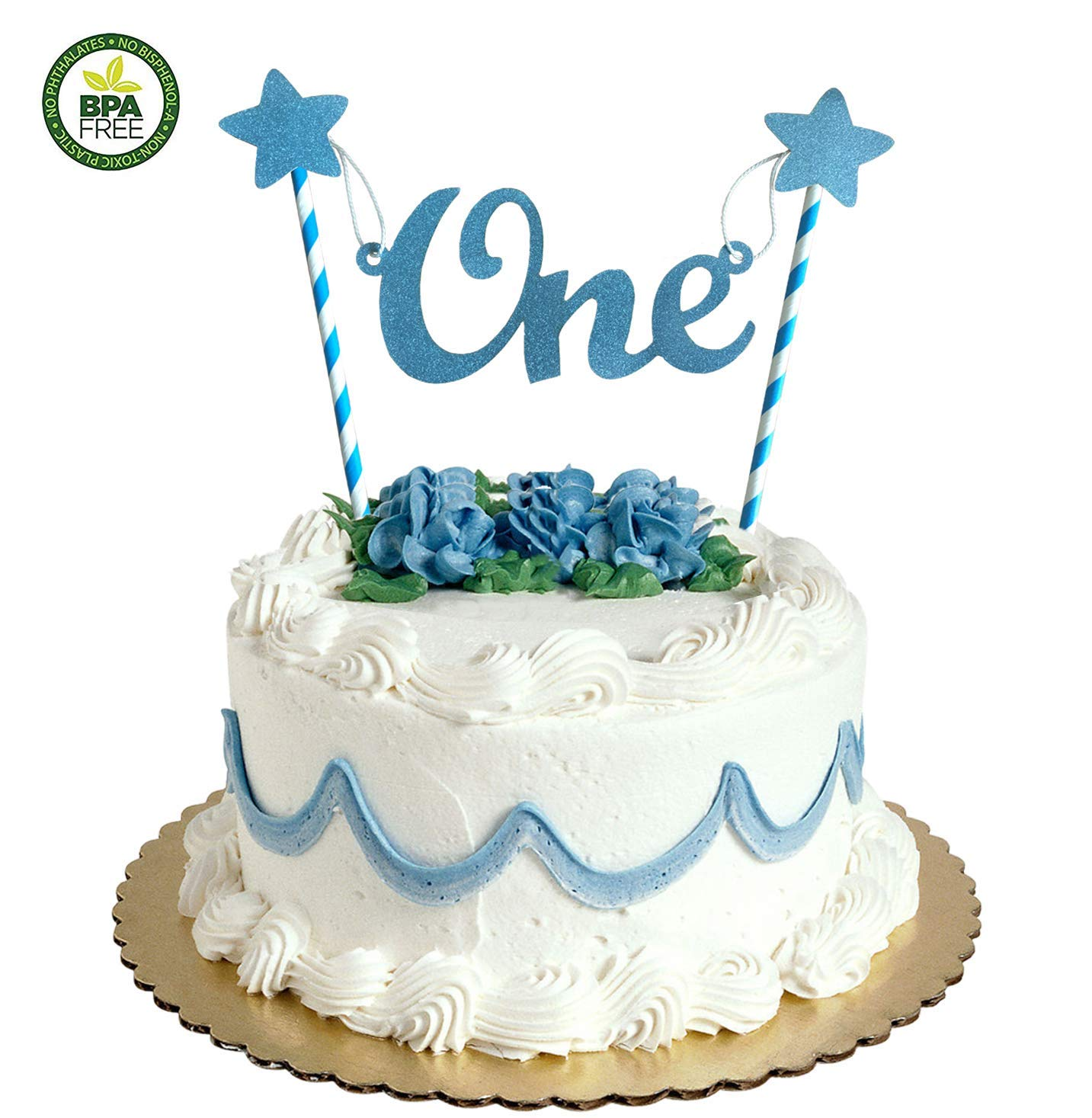 Get Quotations 1st First Birthday Cake Topper Decoration1st Decorations For Boy