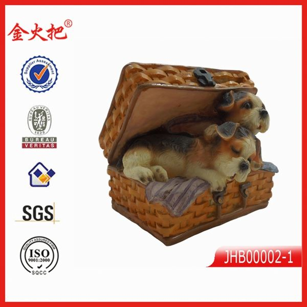 promotion resin 3d dog resin sex foto frame graduation gift