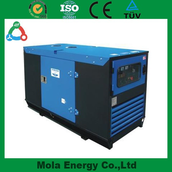 Open/Silent Type Methane Electric Generator Biogas Generator