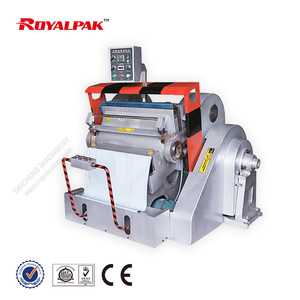 ML-750 hot sale die cutting and creasing machine CE standard Flat Bed Label Die Cutting Machine, Hand Feed Die Cutter