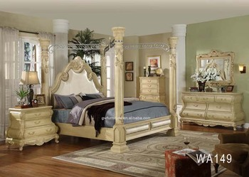 High quality classical wooden furniture roman bedroom sets white buy bedroom sets bed wood for Quality white bedroom furniture