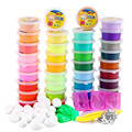 36 Color Colored Play Doh Dough Ultra Light Polymer Clay Soft Bright Arcilla Polimerica Playdough Plasticine