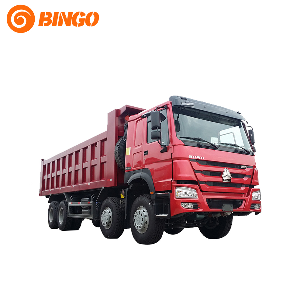 Sino Truck Howo Dump Truck Tipper Chassis 371hp For