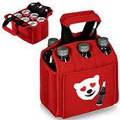 6 Pacco Pieghevole Isolato Neoprene Birra Può Tote Bag di Raffreddamento 12 Pacco Può Carrier