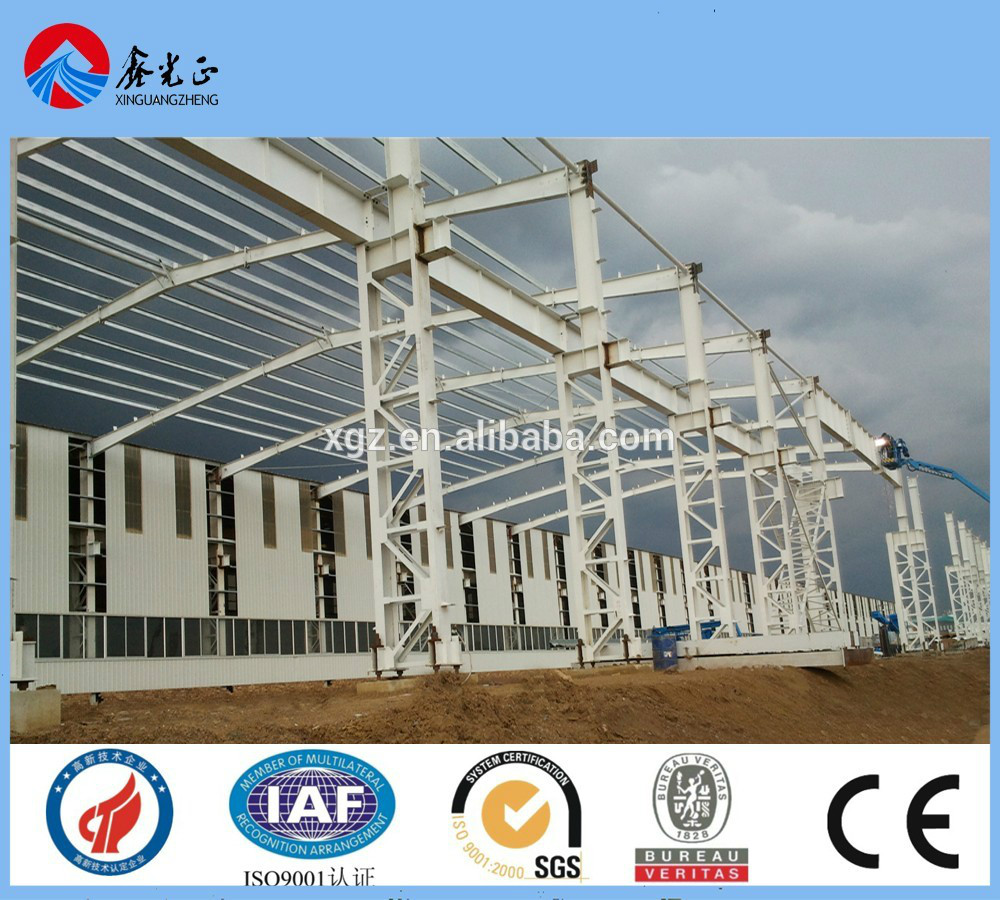 customized pre engineered steel structure warehouse with install service