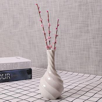 Ceramic Porcelain Vases Unpainted Marble Ceramic Bisque Flower Vase