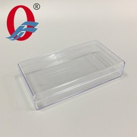 Clear transparent Square Plastic Box for food or herbal packaging