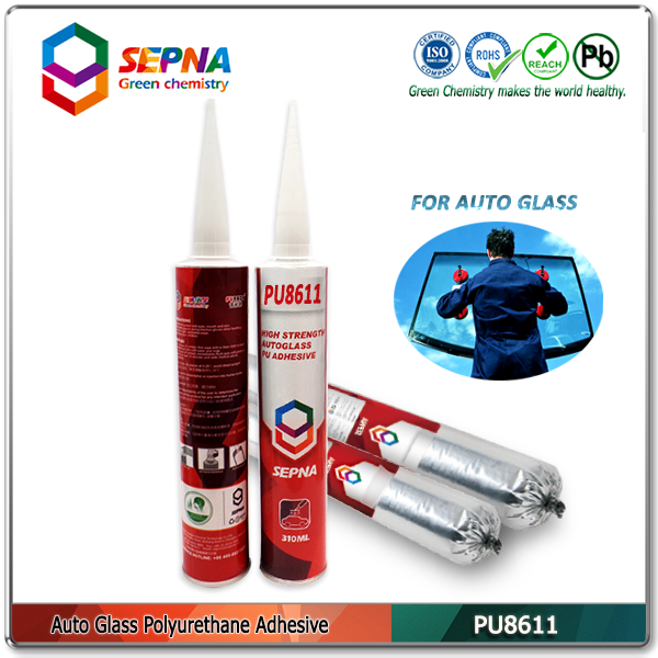 PU8611 window screen frame adhesive with good adhesion;high tensile polyurethane adhesive