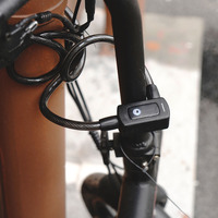 Nokelock Bluetooth Smart Keyless Cable lock for Scooter & bicycle sharing ,E-bike, Motorcycle Security lock