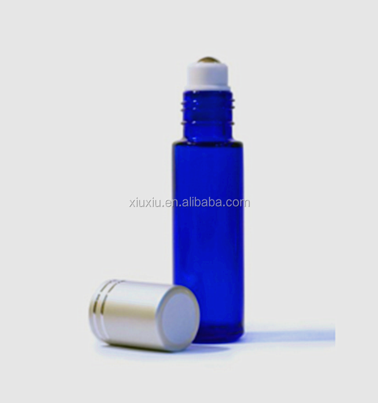 10ml frosted glass roll on bottle with silver metal cap clear frosted glass 10 ml bottle stainless steel