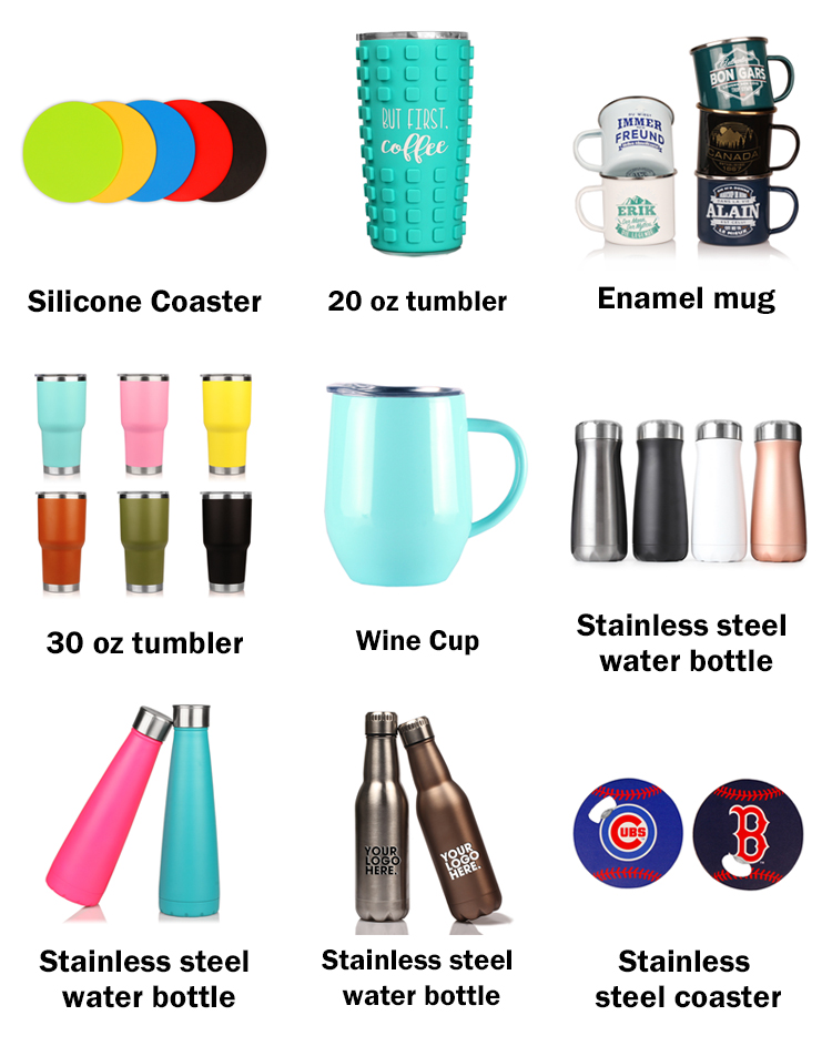 Wholesale 2020 New Food Grade Double Wall Vacuum Insulated Stainless Steel Stemless Wine Cup