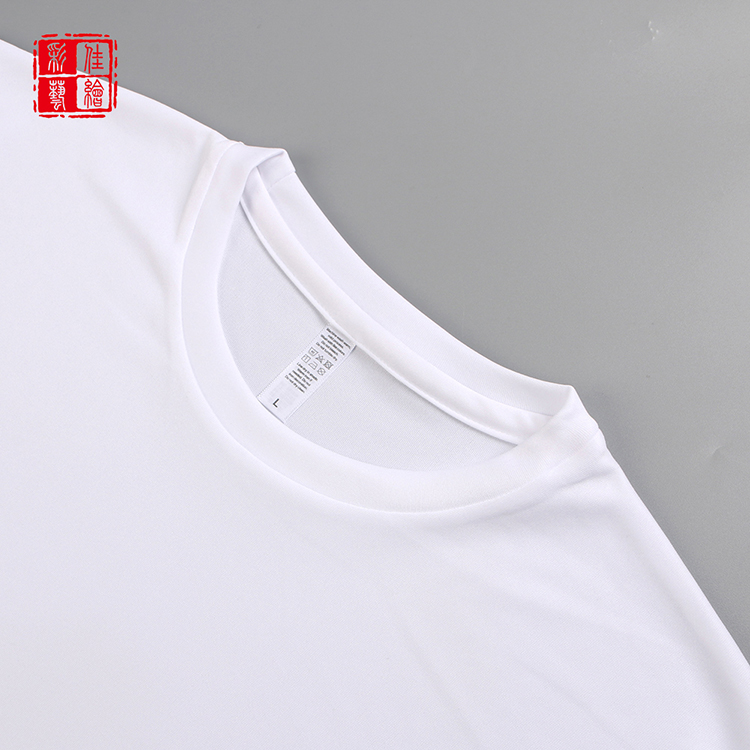 Factory supplier eco friendly personalized polyester spandex t-shirt