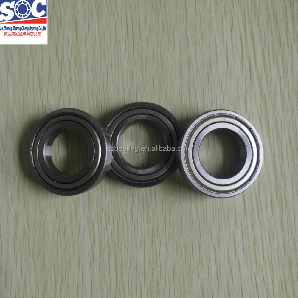 Low friction Ball Bearing 16005zz for Agriculture and electronic machines