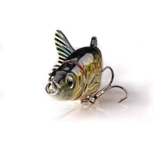 selling from Factory Directly 5 section joint fishing lure,muskie lures fish bite wholesale