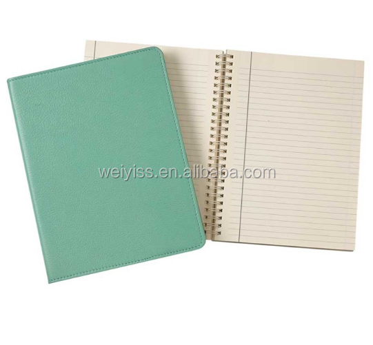 students diary book leather notebook cover customized