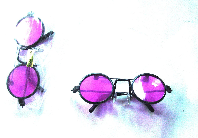 6 Sunglasses Summer Shades Pair John Lennon Beach Beatles Ringo Star Toy