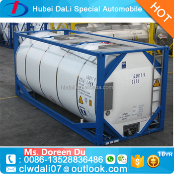 different color with competitive price for 20 Length (feet) ISO Tank Container Sulfuric Acid & Different Color With Competitive Price For 20 Length (feet) Iso Tank ...