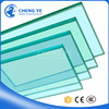 Made In China Factory 5mm Thick Tempered Glass Fin Toughened Shopping Building